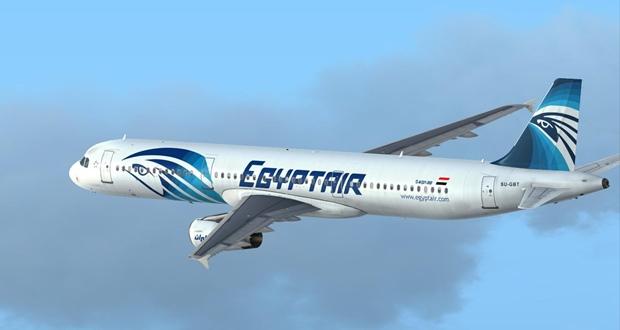 """طائرة تابعة لشركة """"مصر للطيران"""""""
