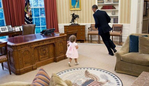 أوباما في البيت الأبيض