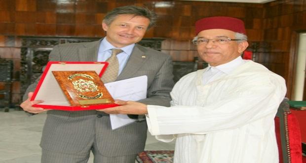 سفير سويسرا بالمغرب ماسيمو باجي