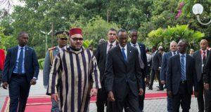 الملك يغادر رواندا