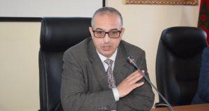 رئيس جماعة تيزنيت إبراهيم بوغضن
